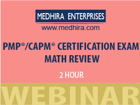 PMP Math Review Class in NYC, PMP Math review online